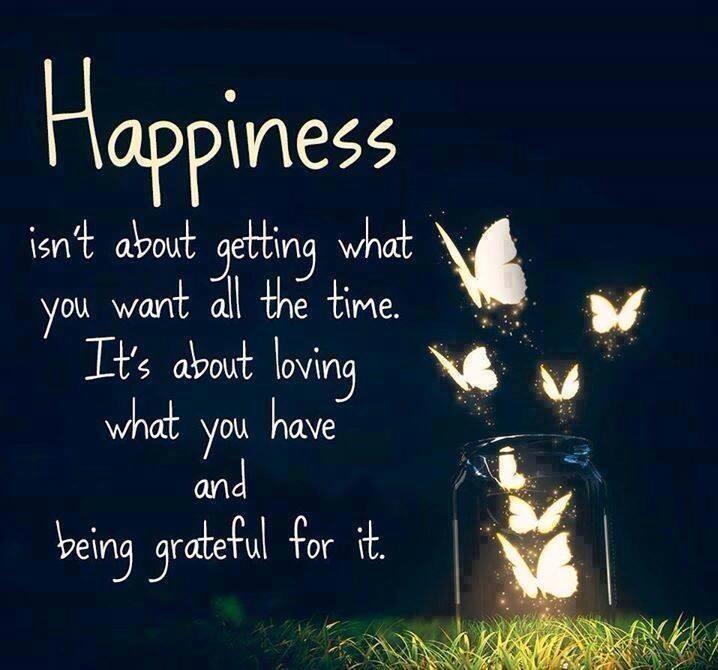 Liste der Dinge, für Dankbarkeit zu danken