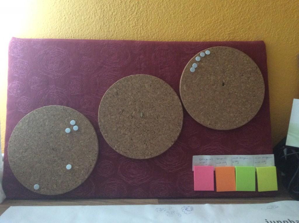 Kanban-Board, handgemacht