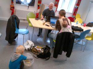 Rockzipfel München - Arbeiten mit Baby und Kleinkind