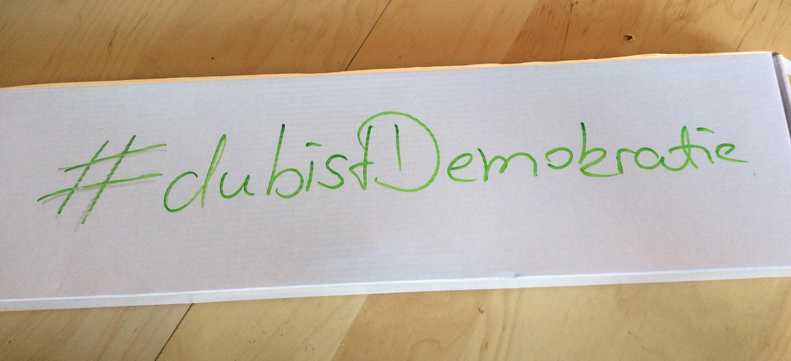 #dubistdemokratie