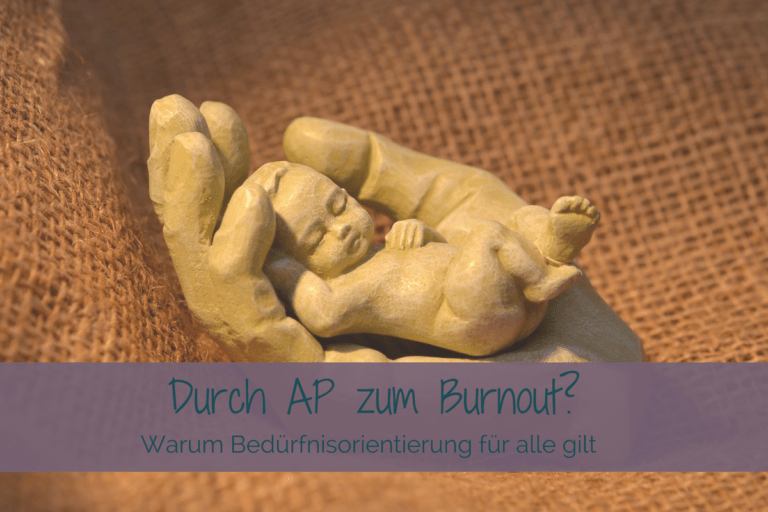 Attachment Parenting und Burnout