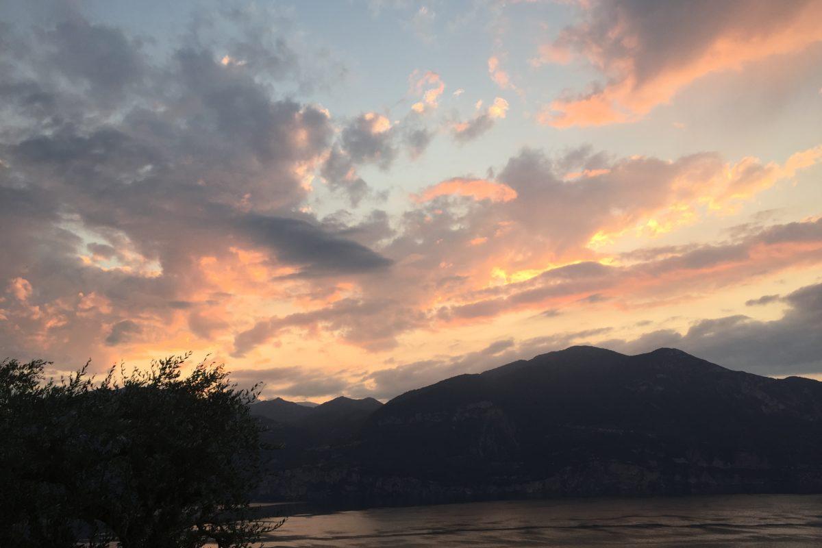 Himmel über dem Gardasee | Stille